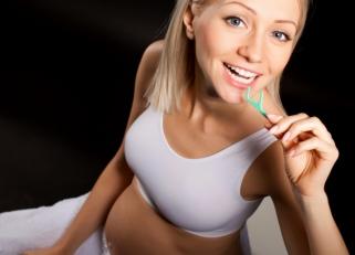 Здоровые зубы при беременности!